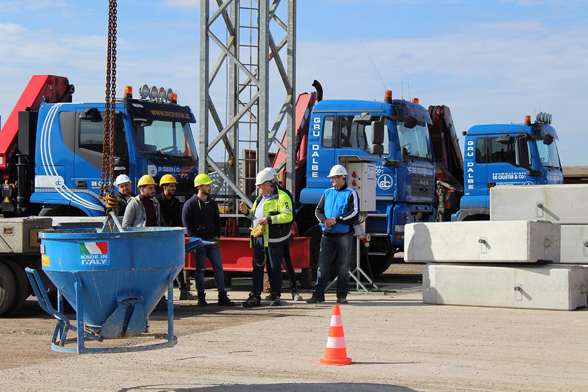 opleidingen bouwkraanmachinist De Ceuster Lommel