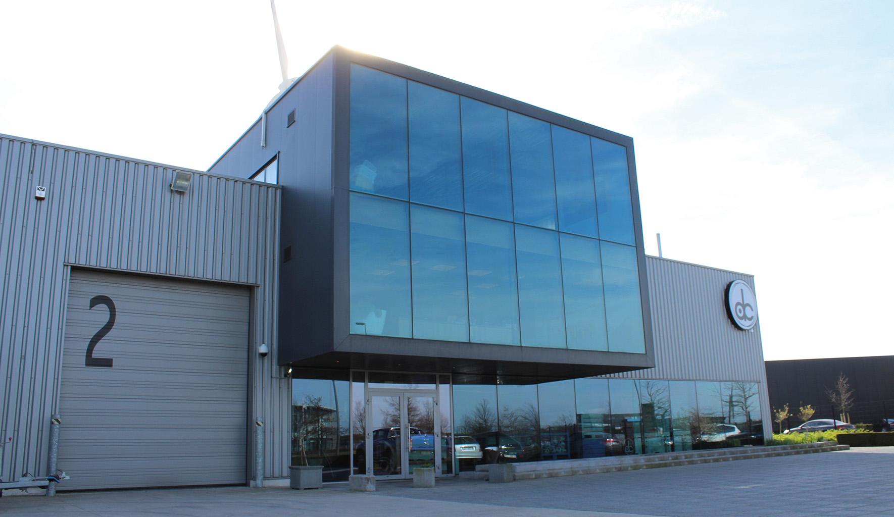 gebouw De Ceuster bouwranen opleidingen Lommel